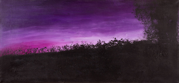 Sunset 51 Purple (27x60)
