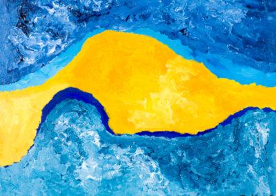 Sunny Blue (18x24)