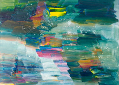 Turquoise Notion (24x30)