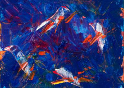 Four Birds (16x20)