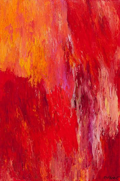 Flame (24x36)